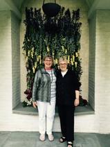 Margarete Harvey with Sally