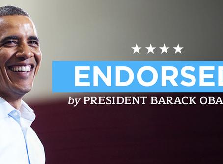Andraca Endorsed by Former President Barack Obama