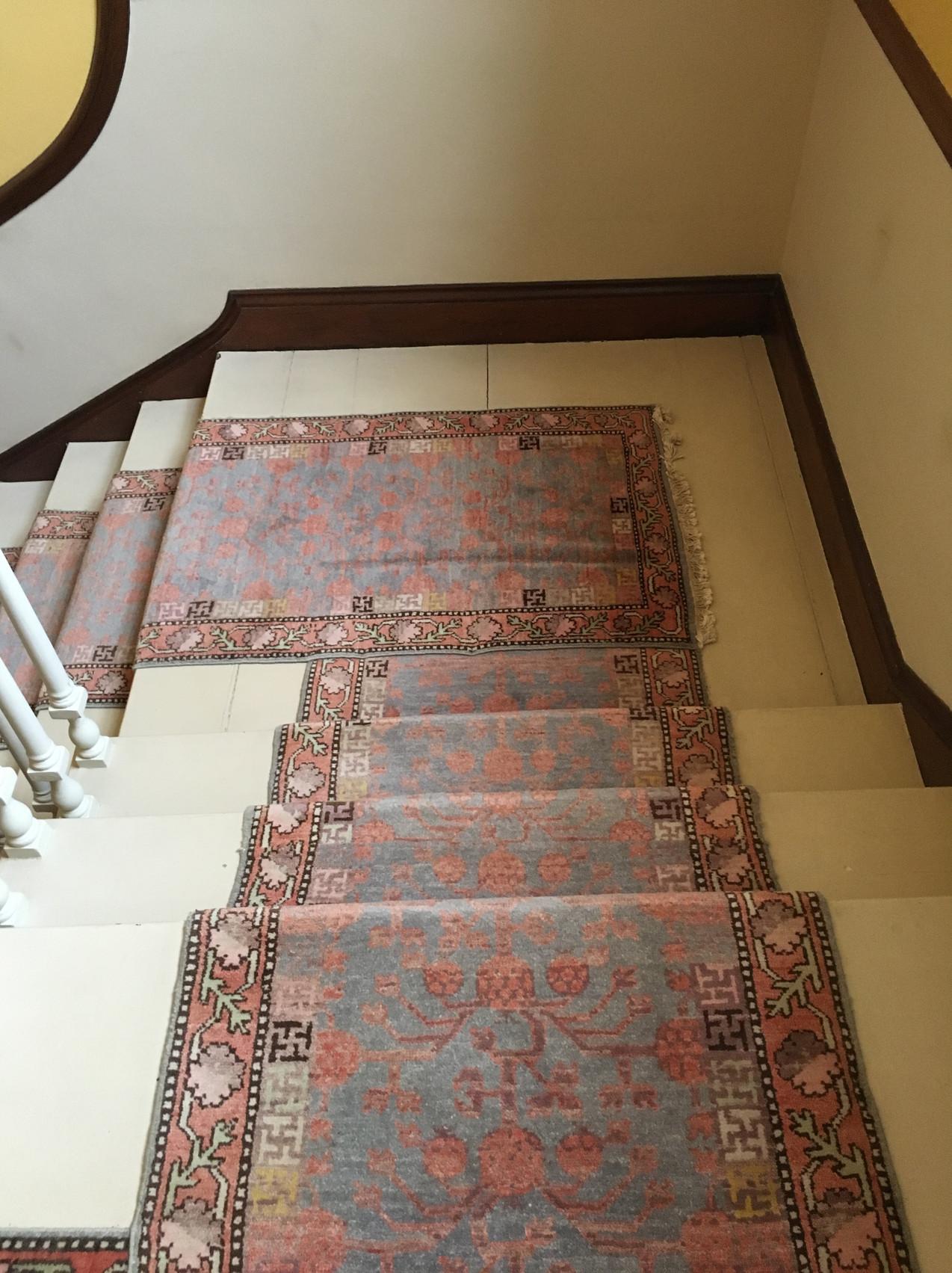 Ardbraccan House stairs