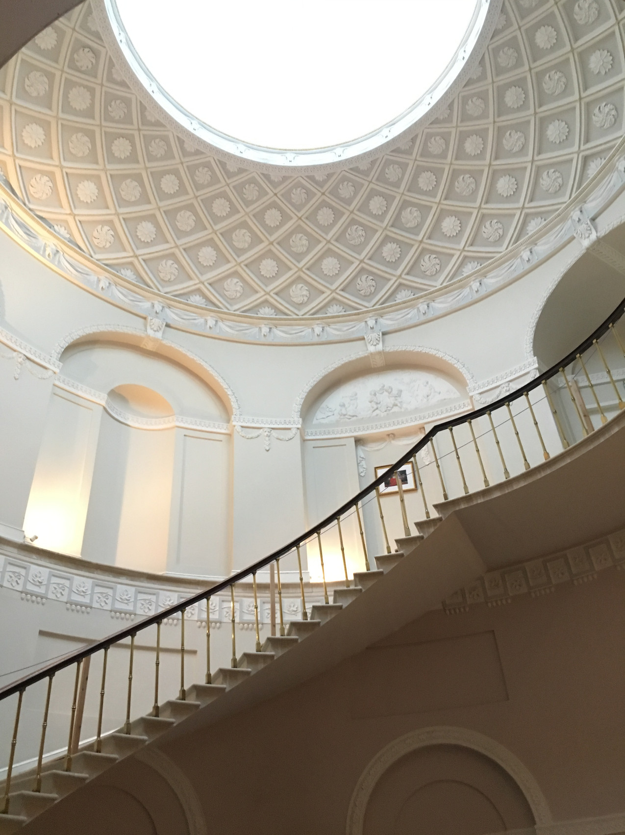 Townley Hall main stair
