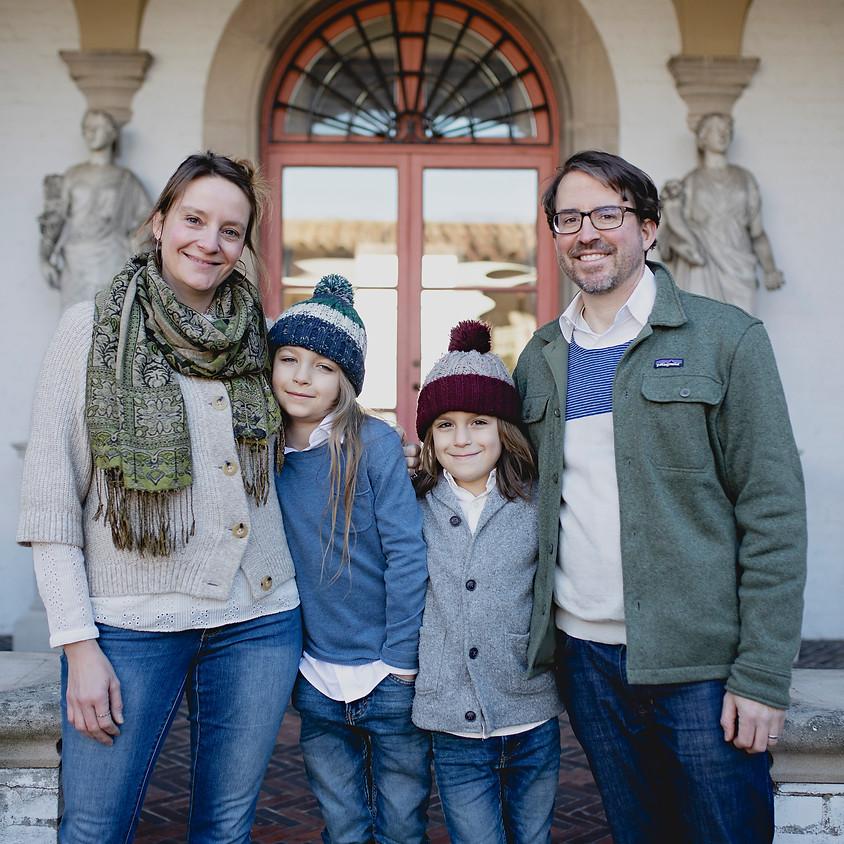 Fall Family Photo Sessions at Villa Terrace