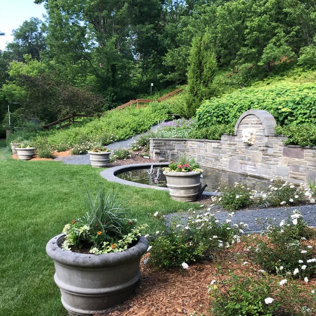 Villa Terrace Fountain