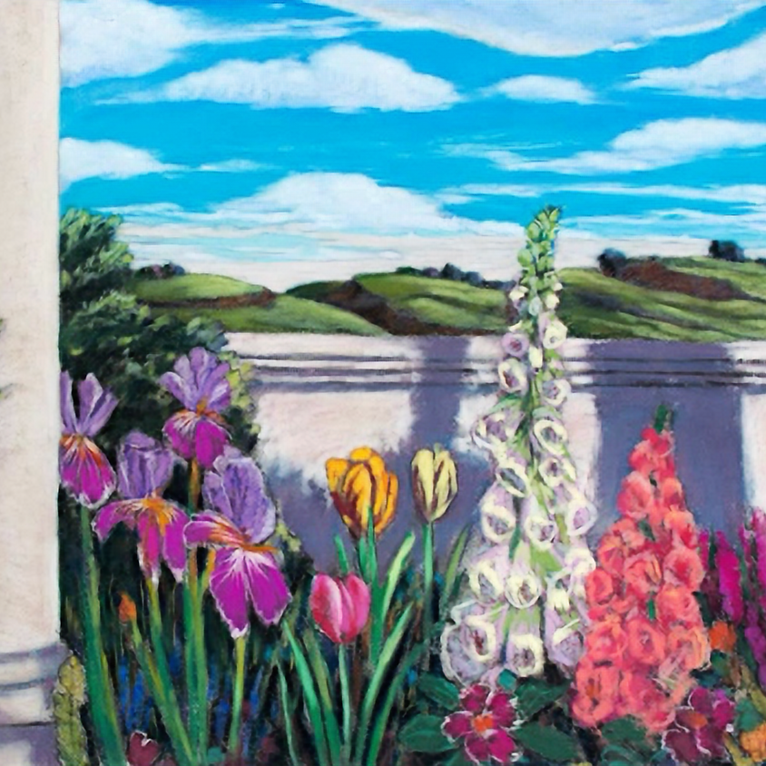 SOLD OUT - Children's Art Classes - Pastel Landscapes with Quinn Kammer