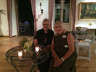 Sally with Eileen Kaczmarek