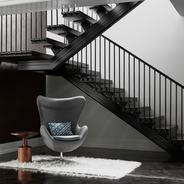 Modern Farmhouse Main Stair