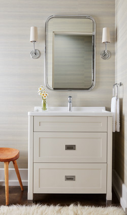 Modern Farmhouse Guest Bathroom