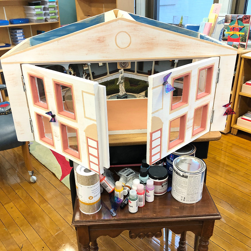 A Villa Terrace Little Library!