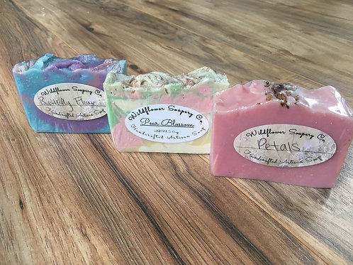 Bouquet Trio Soap Set