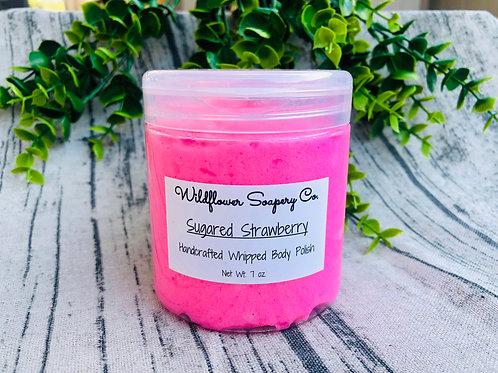 Whipped Body Polish Sugared Strawberry