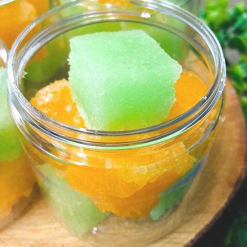 Solid Sugar Cube Scrub Cucumber Melon