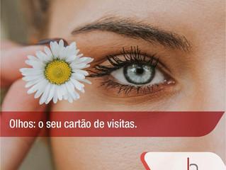 Olhos: o seu cartão de visitas