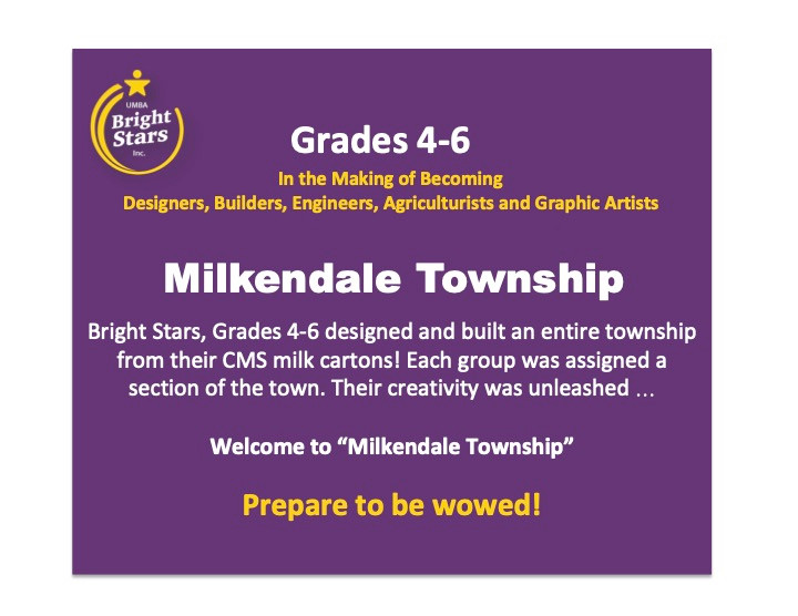 "Welcome to ""Milkendale Township"""