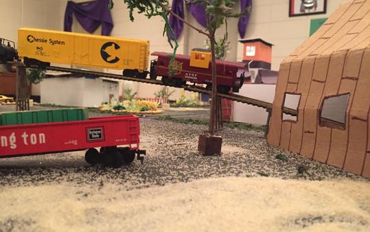 Barnhouse Tunnel for the Train