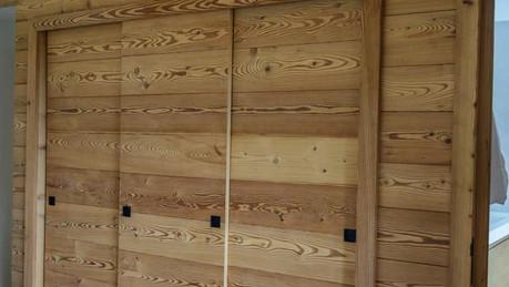Porte vieux bois