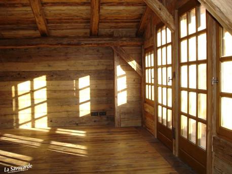 fenêtre à petits bois
