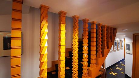 Poteau d'escaliers Henry Jacques le Même