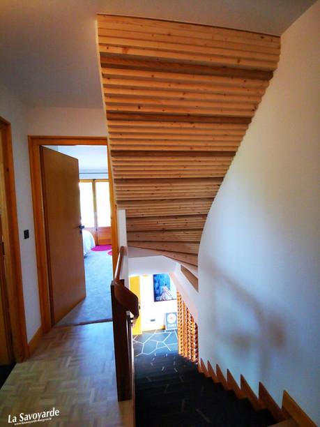 Escaliers Rubiscube vue de dos