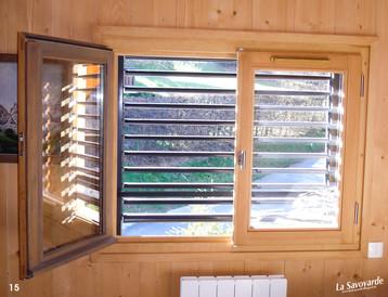 Fenêtres et persiennes