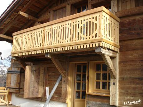 Balcons stylisés