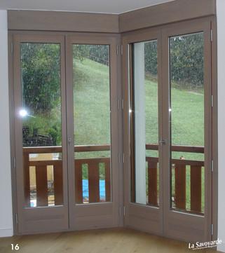 Grande fenêtre de balcon