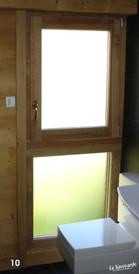 Fenêtres avec imposte basse fixe