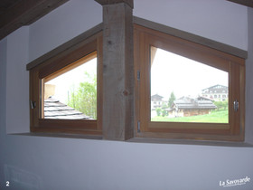 Fenêtres trapèzes