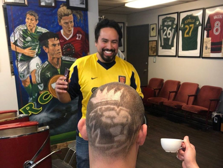 FC Barbershop featured on NBCSN