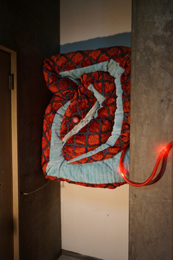 series of Soft toys - Flame snake -