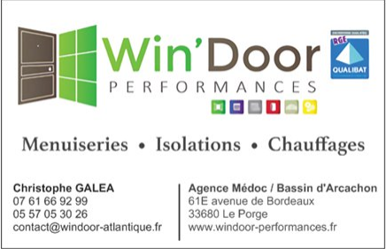 Win'Door - Menuisier Le Porge