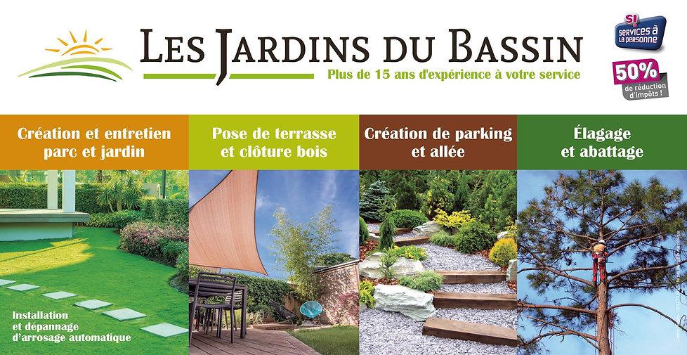 les jardins du bassin - Le porge