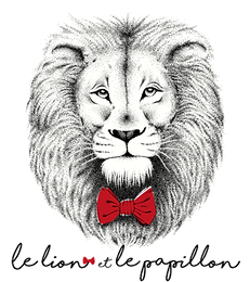 Le lion et le papillon