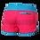 Thumbnail: Boardshort femme 11″ LINEUP recyclé