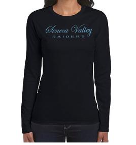 Women's Long Sleeve-Glitter SV Design
