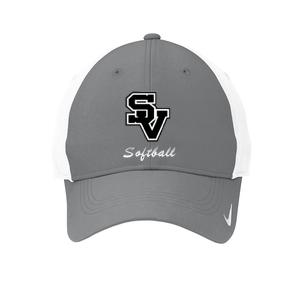 Adjustable Nike Cap-SV with softball writing design