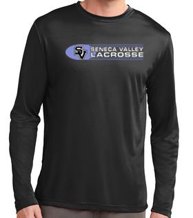 Long Sleeve Dri Fit Shirt-Oval Lacrosse Logo