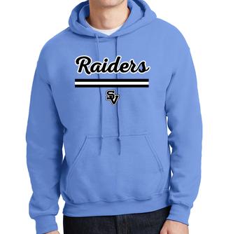 Hooded Sweatshirt-Script Raiders
