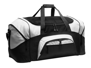 Color Block Large Duffle