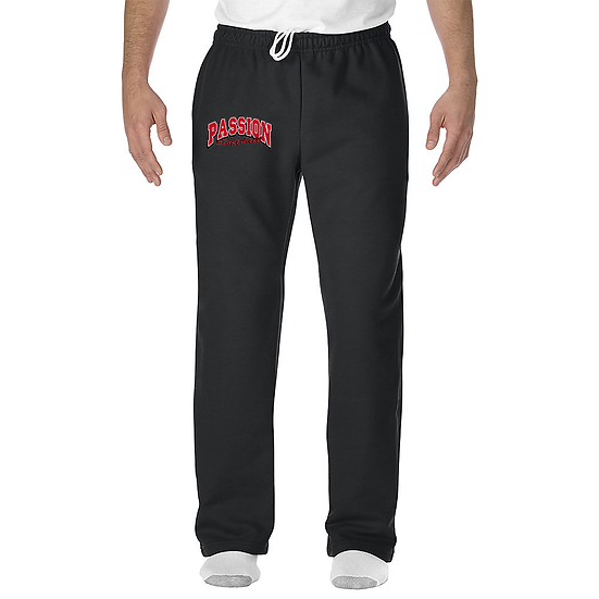 Passion-Youth Open Bottom Sweatpants