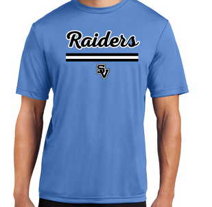 Short Sleeve Dri Fit Shirt-Oval Lacrosse Logo