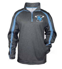 Badger Fusion 1/4 Zip-SVGLAX Design