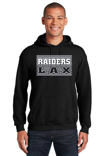 Hoodie-Striped LAX Design