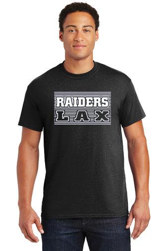 Short Sleeve Shirt-Striped LAX Design