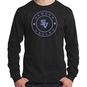 Youth Long Sleeve Shirt-Round SV design
