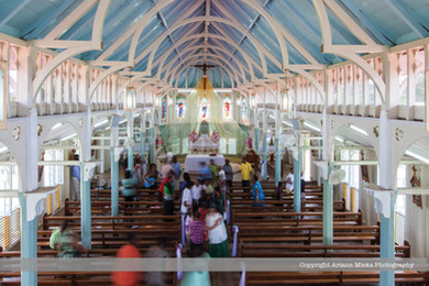Our Lady of Montserrat Church Tortuga