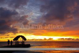 Sunset Sandy Point 2