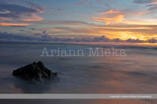 Sunset at Sandy Point 1