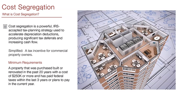 What is Cost Segregation slide.PNG
