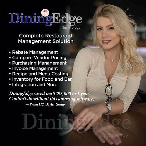 Complete restaurant management software.