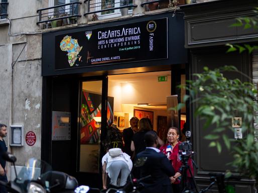 CréArts-Africa, l'événement qui met à l'honneur art et créations d'Afrique contemporains !