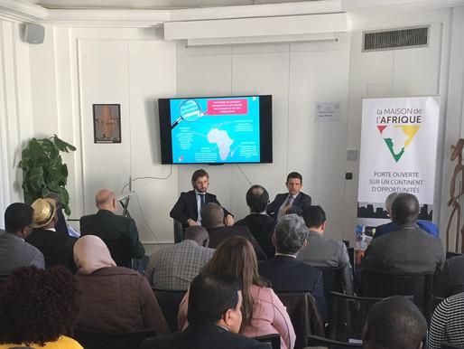 Journée de promotion du Baromètre annuel d'opinion des entreprises africaines à La Maison de l'Afriq